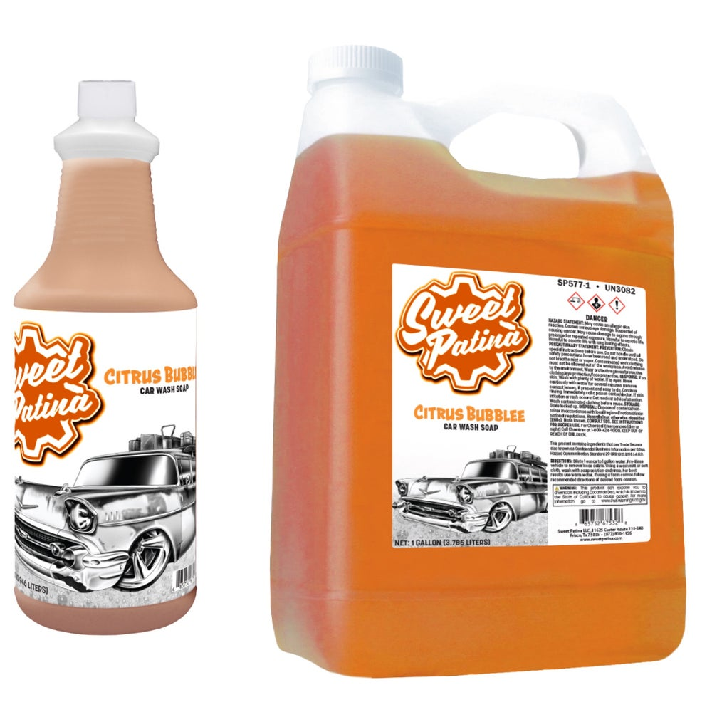 "Image of ""Citrus Bubblee"" Car Wash Soap"
