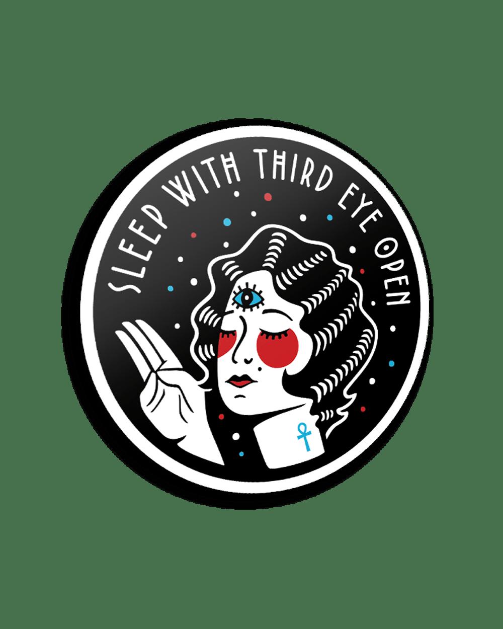 """""""Sleep With Third Eye Open"""" / Sticker"""