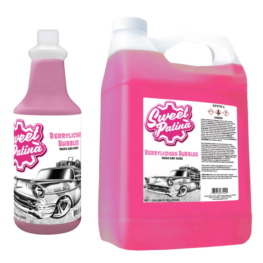 "Image of ""Berrylicious Bubblee"" Wash and Shine"