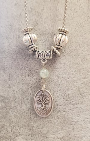 Image of Fine Silver- Handmade- Pendant- Tree of Life- Necklace- #305