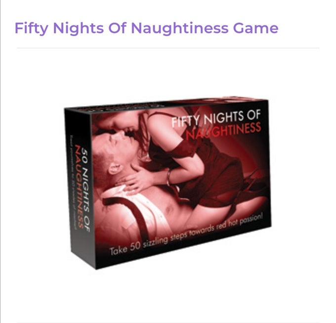 Image of Fifty Nights of Naughtiness Game