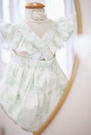 Image 2 of Preorder Spring Green Toile Beatrix Potter Legacy Bubble