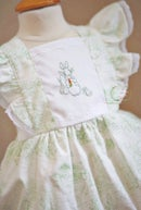 Image 3 of Preorder Spring Green Toile Beatrix Potter Legacy Bubble