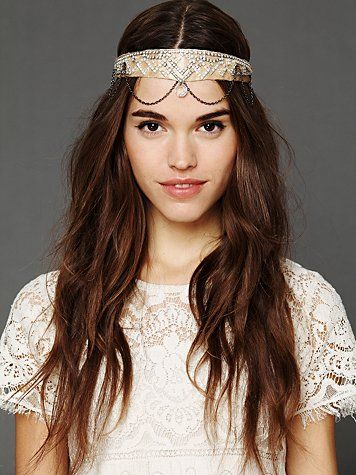 Image of Art deco headbands are automatically added in order as free gift