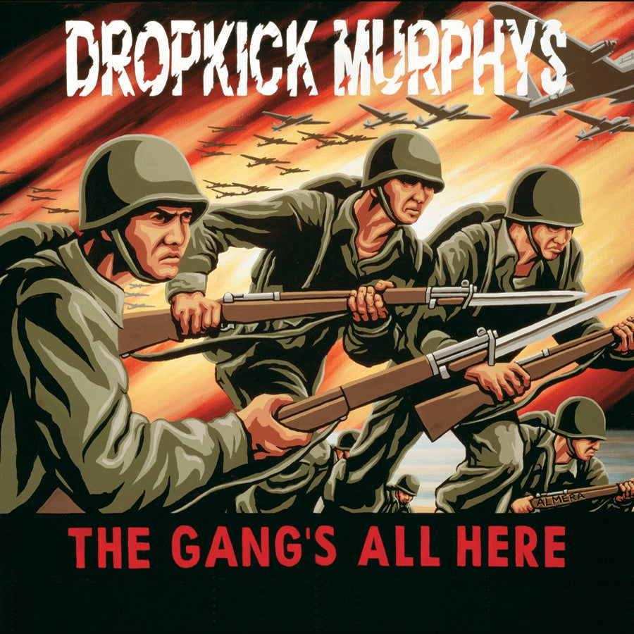 Image of Dropkick Murphys - The Gang's All Here LP (trans yellow vinyl)