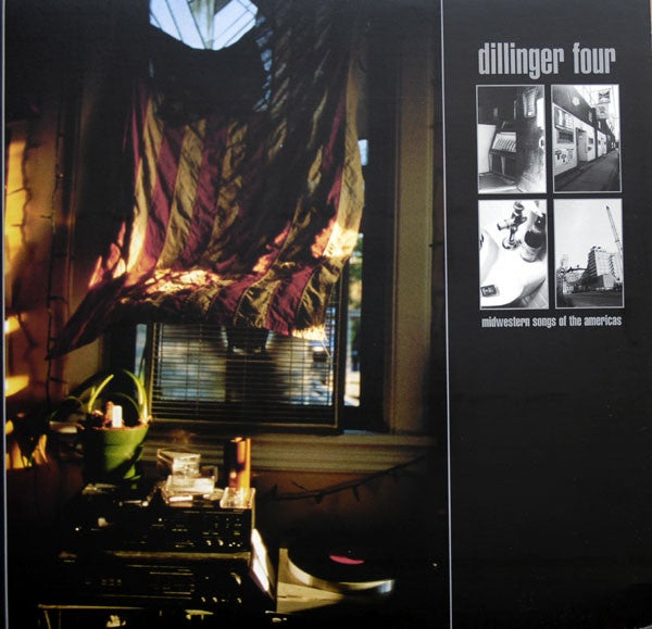 Image of Dillinger Four - Midwestern Songs of the Americas LP