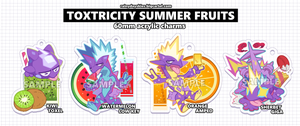 Image of Toxtricity Summer Fruits Charms