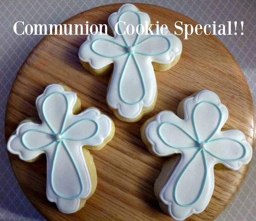 Image of Communion Cross Cookies