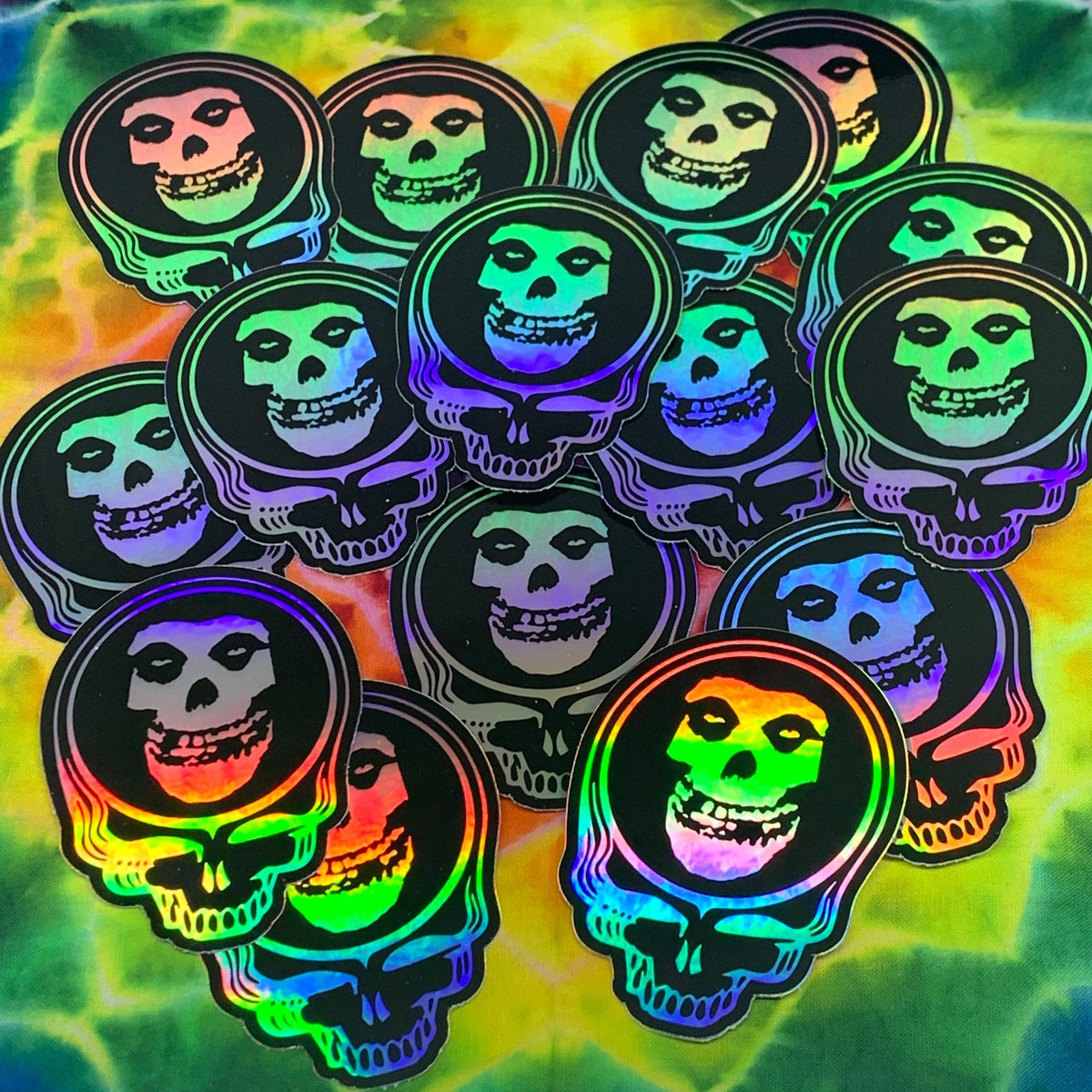 Misfits Holographic Stickers!