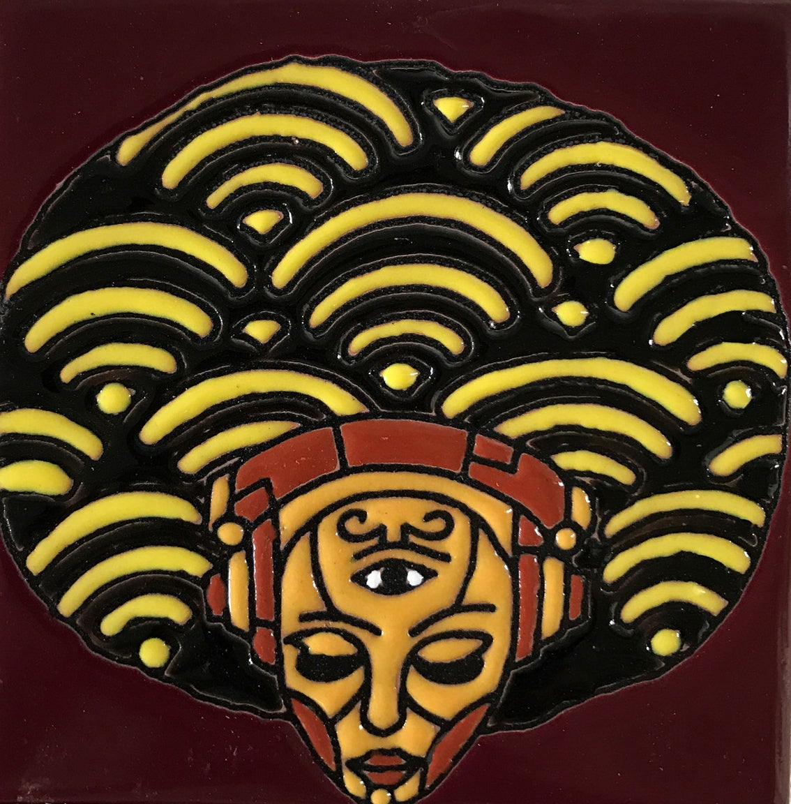 Image of Afro Consciousness Coaster Tile