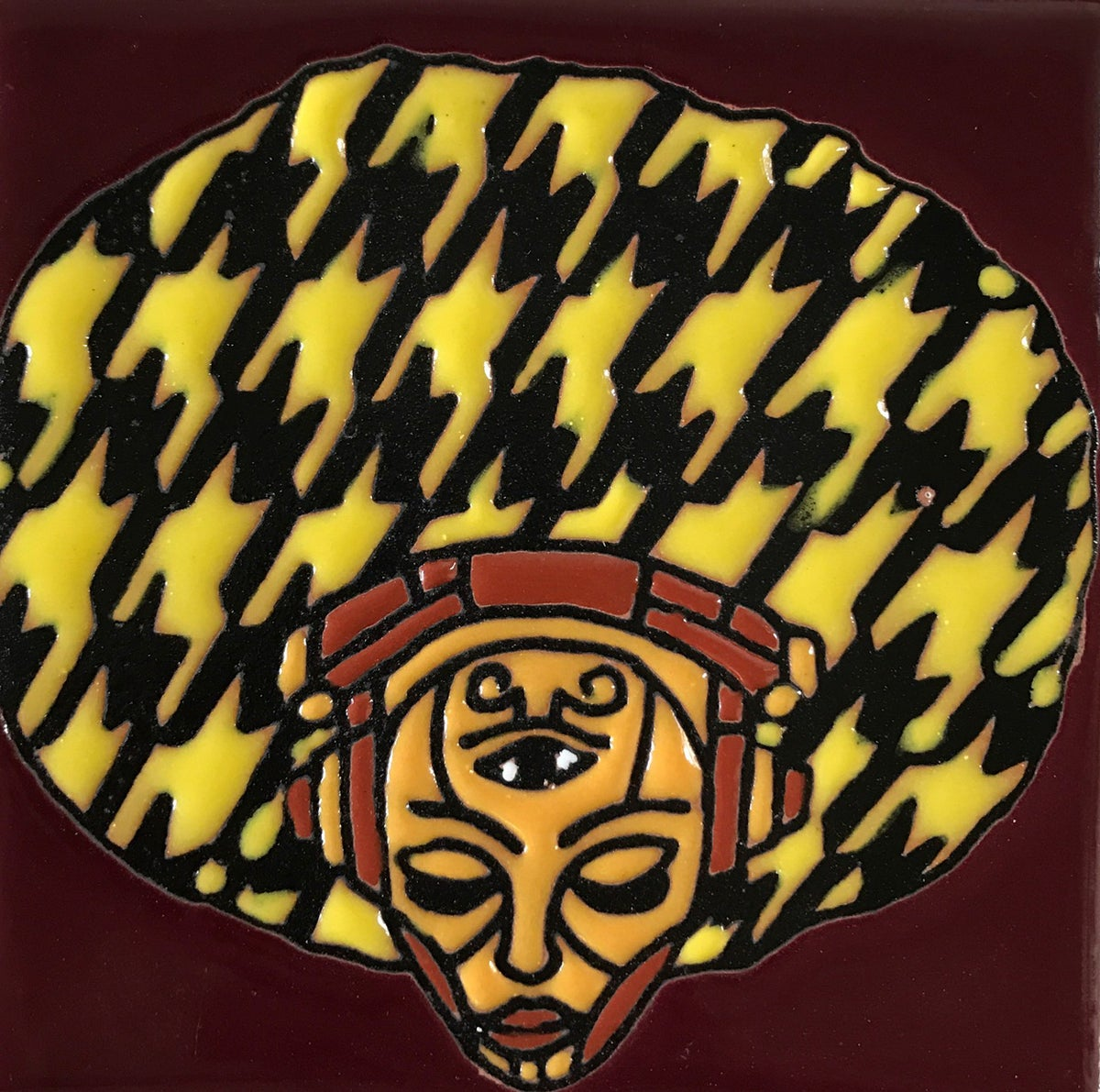 Image of Afro Konscious Coaster Tile