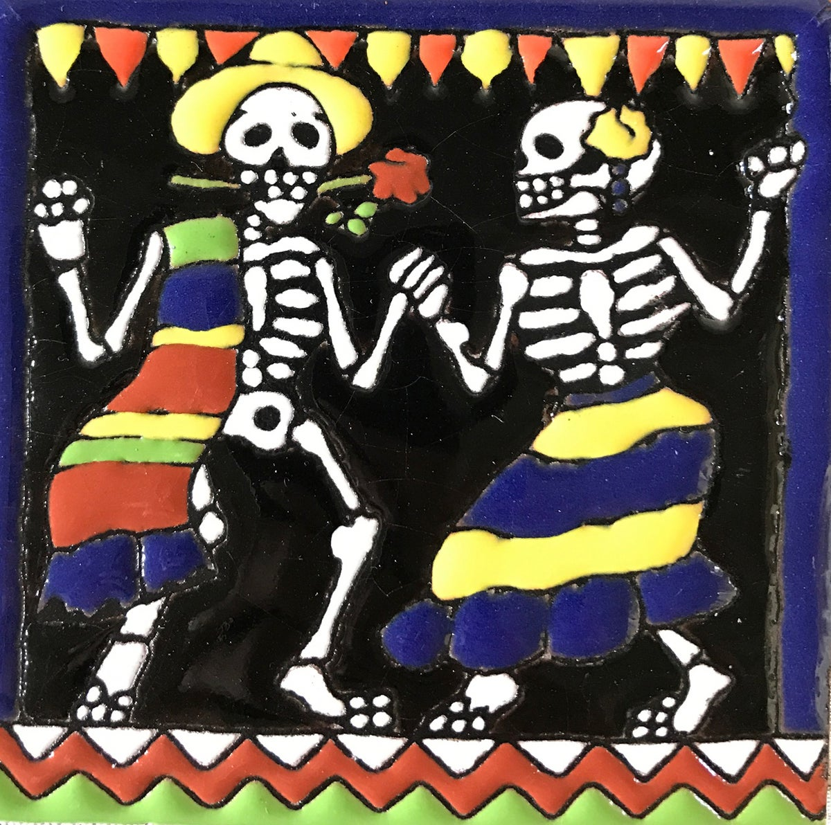 Image of Baile Salsa Coaster Tile