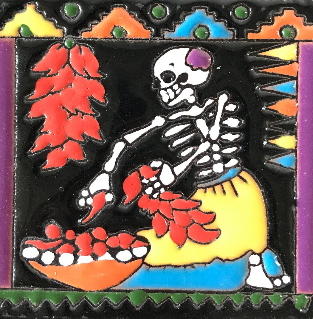 Image of New Mexico Chile Coaster Tile