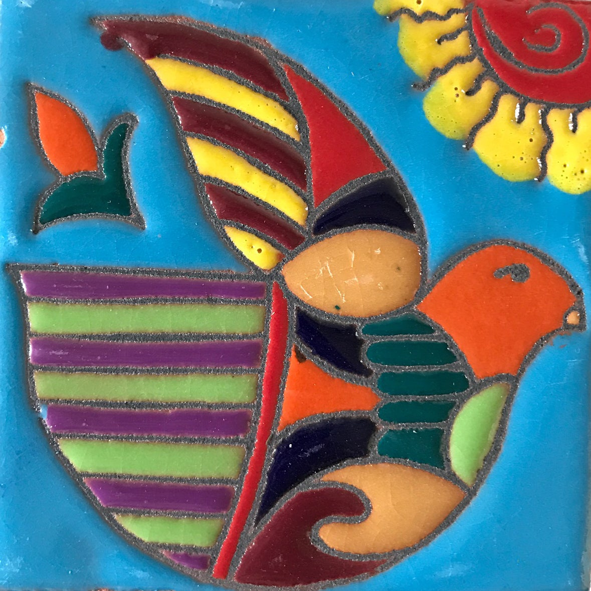 Image of Dove Coaster Tile