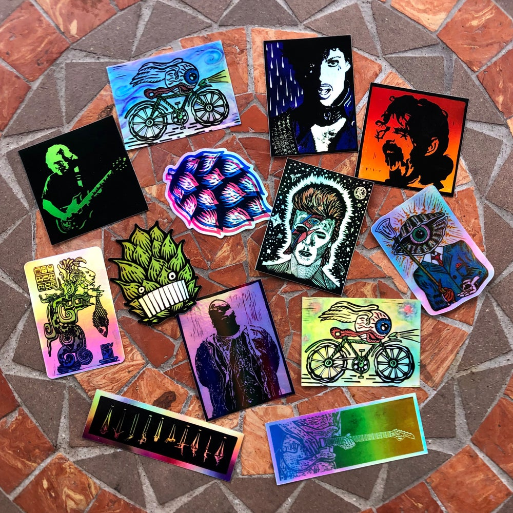 Image of Holographic stickers