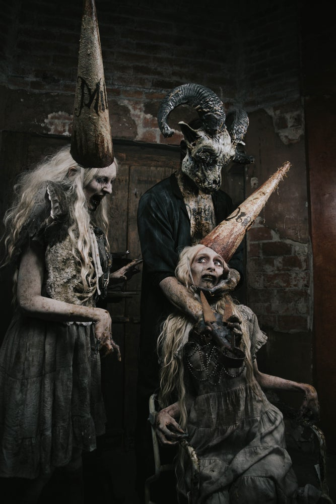 Image of Deathhaus- Necrotic goat mask