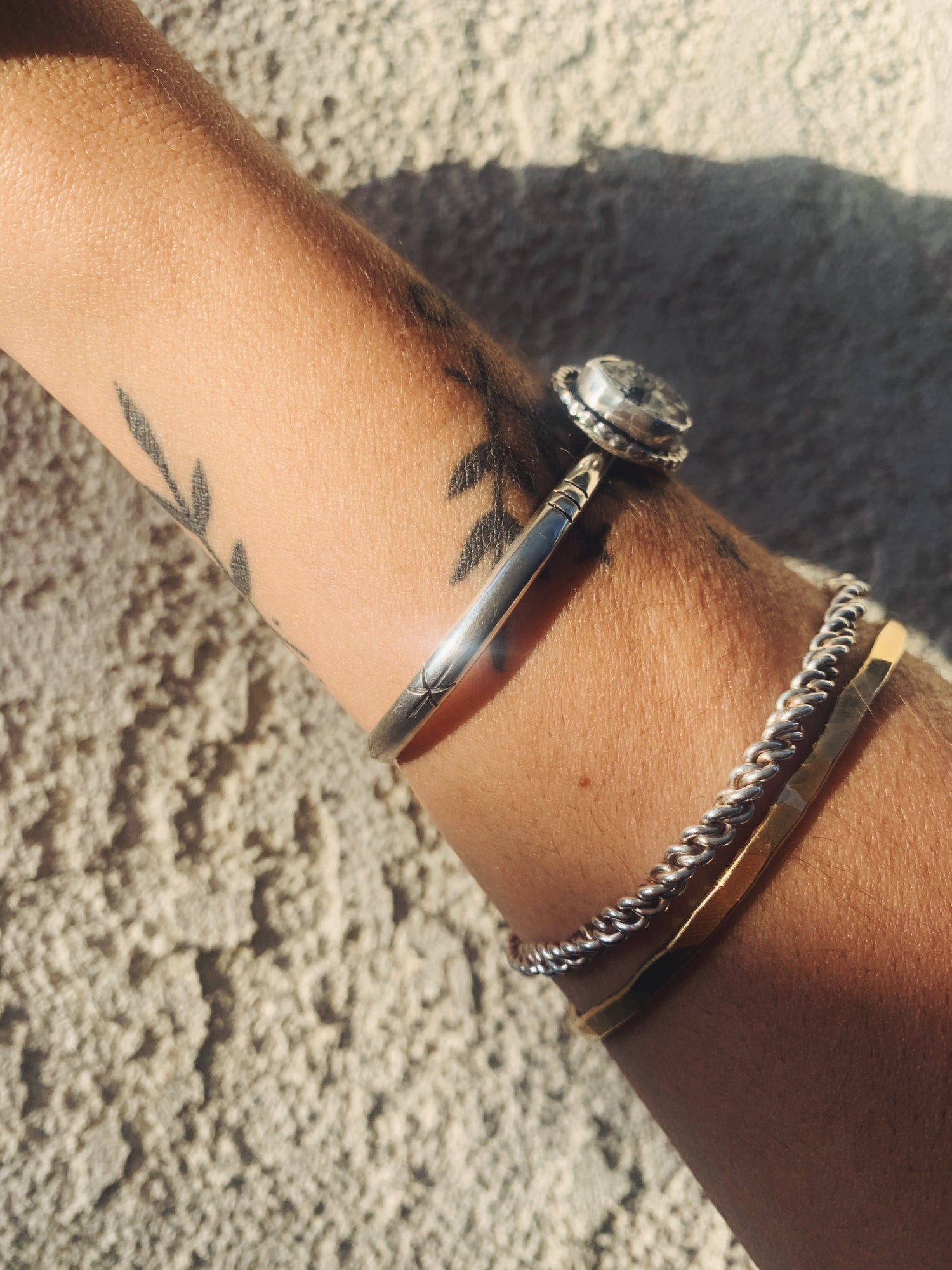 Image of Tourmalated Quartz Cuff