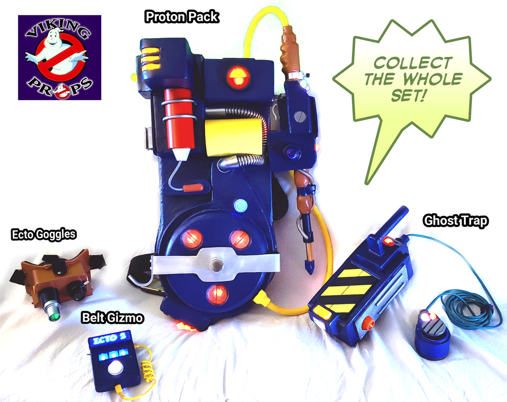 Real Ghostbusters Belt Gizmo