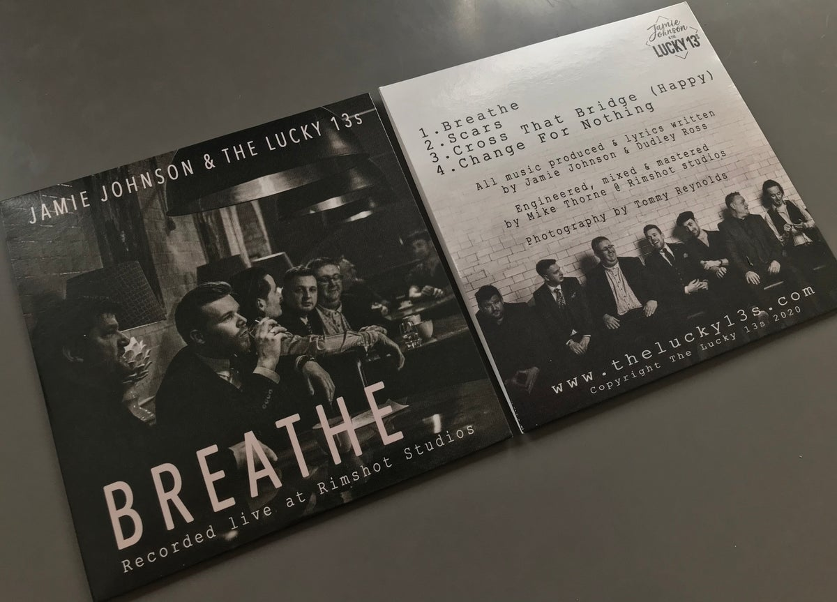 'BREATHE' EP CD