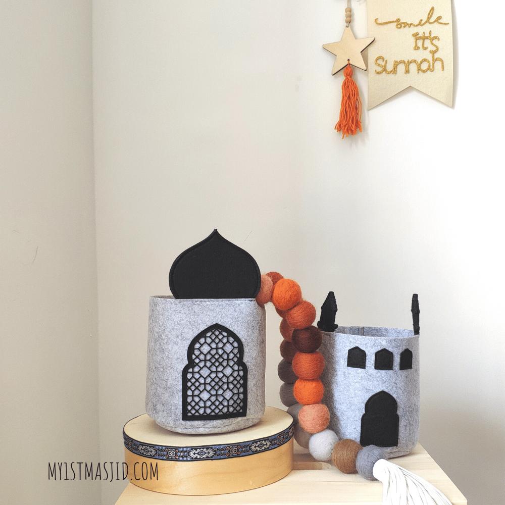 Image of Masjid Basket (set of 2)