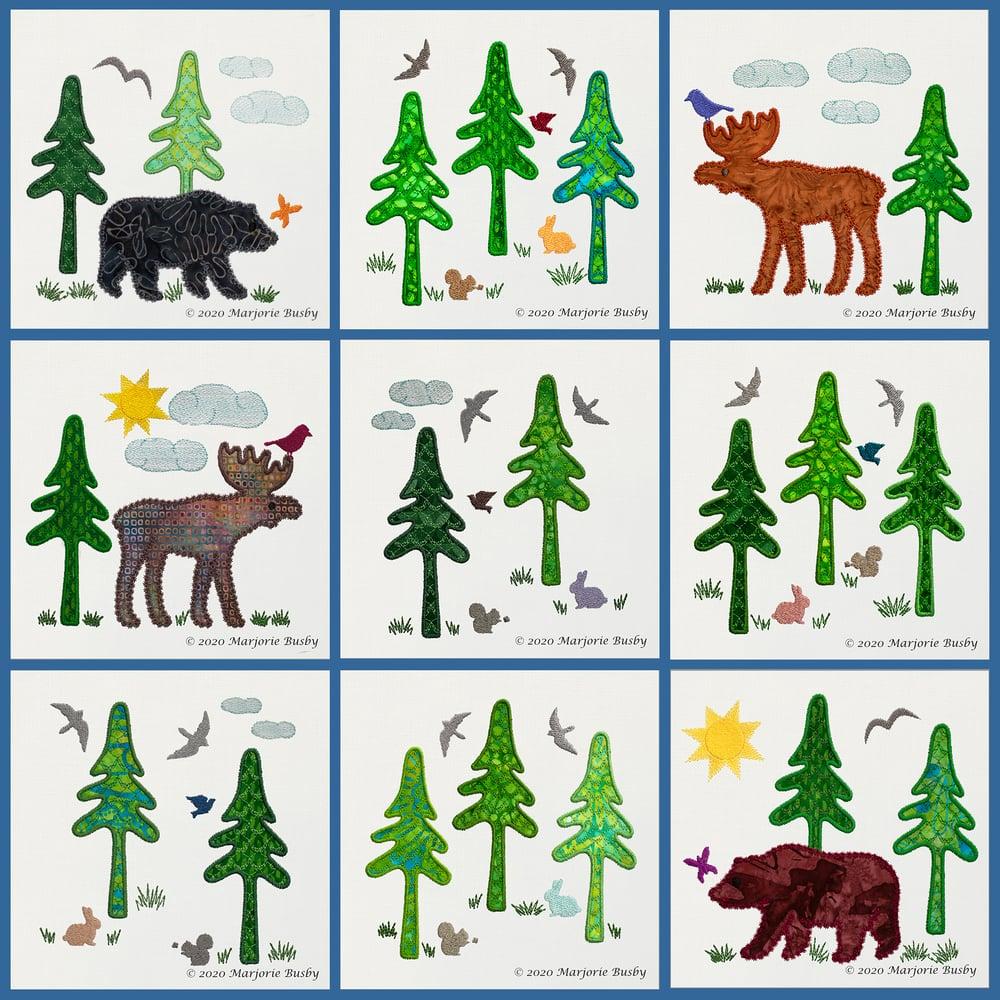Image of GO!™ Northwoods Quilt Blocks