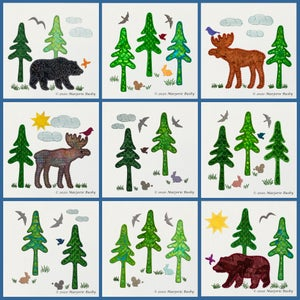Image of GO!™ Northwoods Quilt Blocks