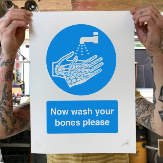 Image of Now wash your bones please