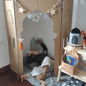 Image of Corner Masjid Stand DIY Kit