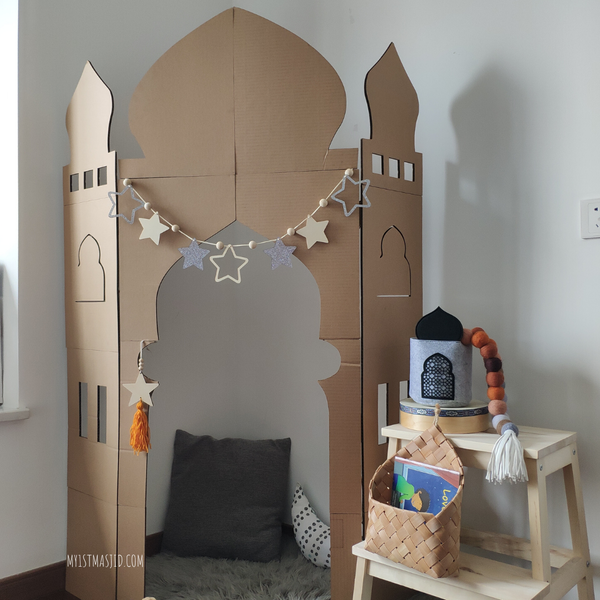 Image of Corner Masjid Stand DIY Kit