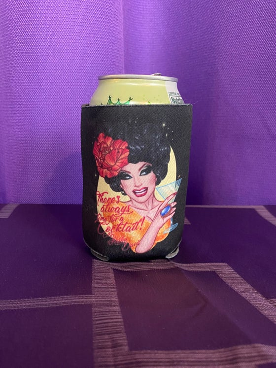 Image of There's Always Time for a Cocktail Coozie