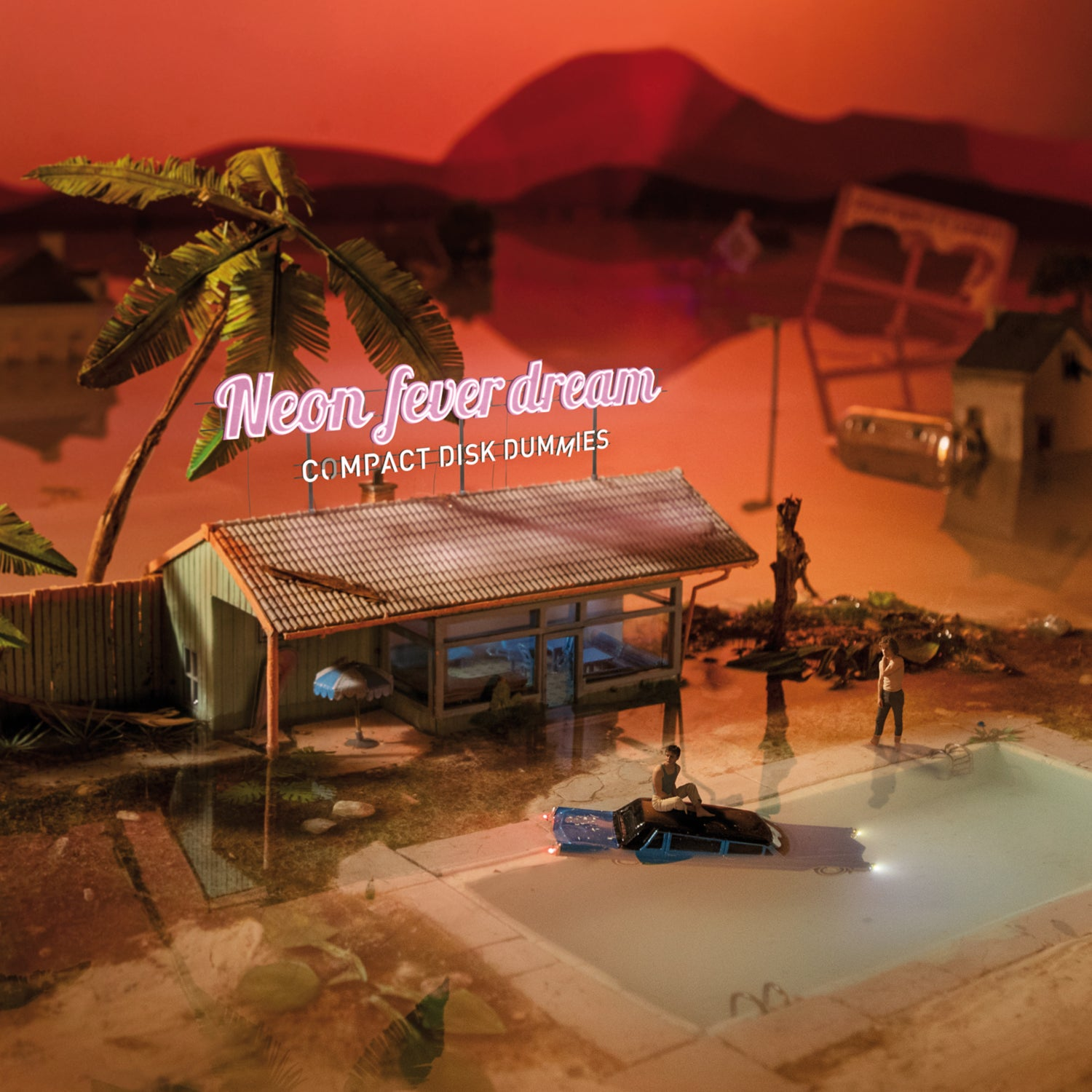 Image of Pre-order: Compact Disk Dummies - Neon Fever Dream (CD)