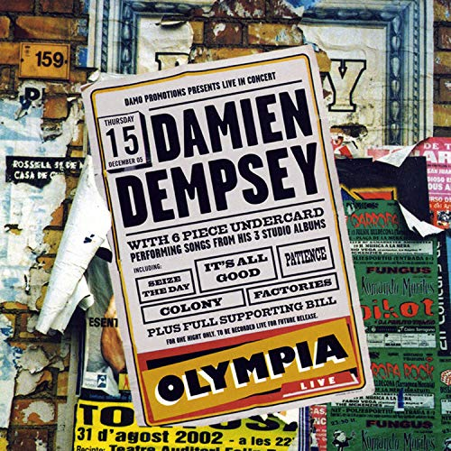 Image of Damien Dempsey Live - CD