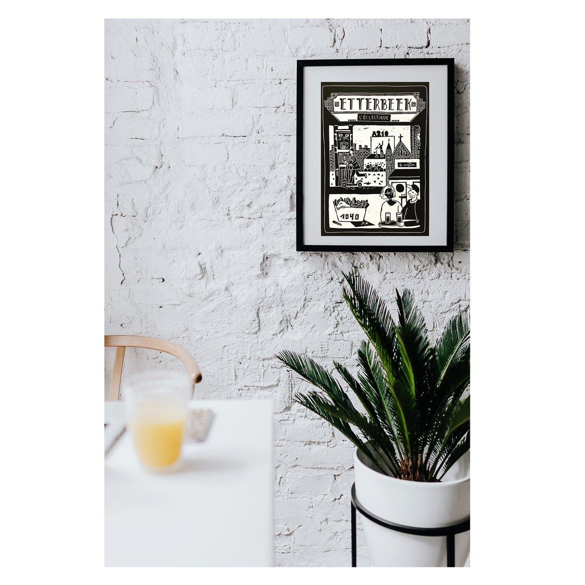 Linogravure Etterbeek