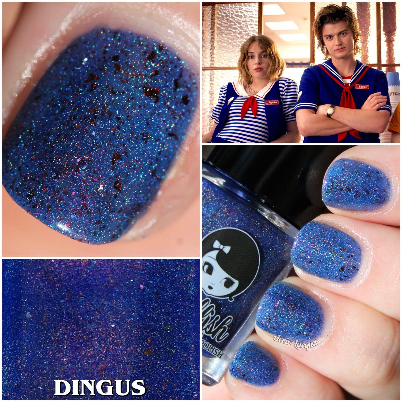 "Image of STRANGER THINGS 3 - ""Dingus"" Full size polish"