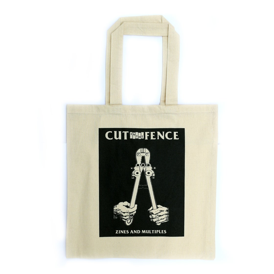 Image of MASTER KEY TOTE - CUT IN THE FENCE