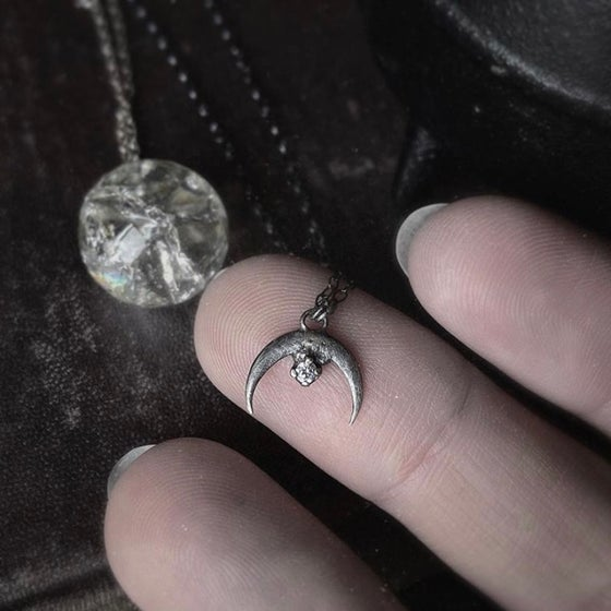Image of Moon Child Necklace