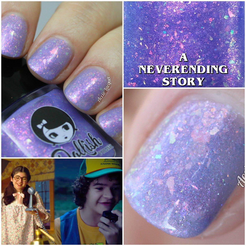 """Image of STRANGER THINGS 3 - """"A Neverending Story"""" Full size polish"""