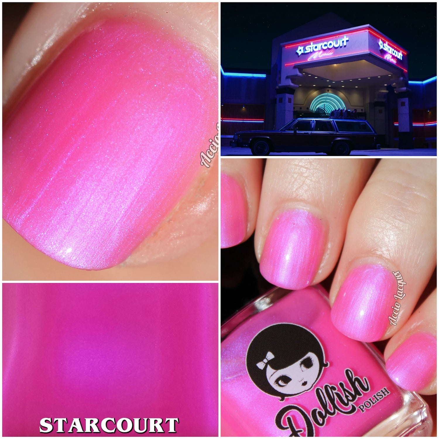 "Image of STRANGER THINGS 3 - ""Starcourt"" Mini size polish"