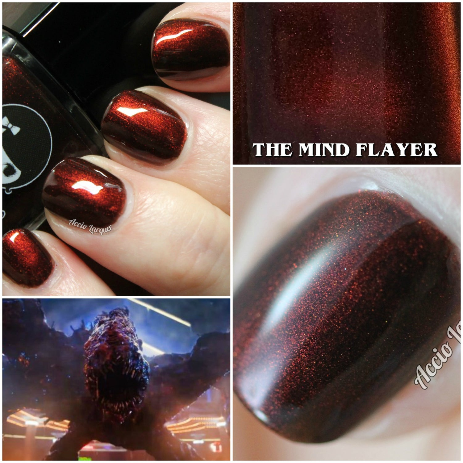 "Image of STRANGER THINGS 3 - ""The Mind Flayer"" Mini size polish"