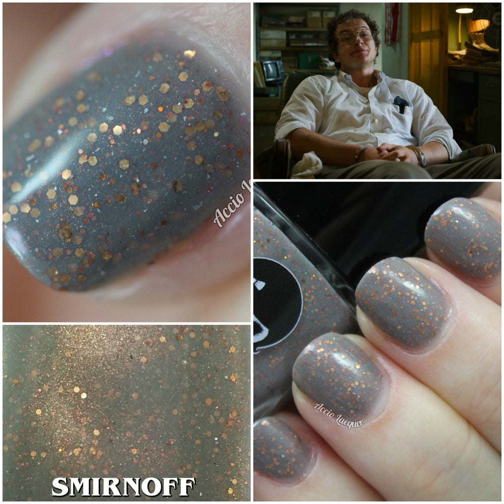 "Image of STRANGER THINGS 3 - ""Smirnoff"" Mini size polish"