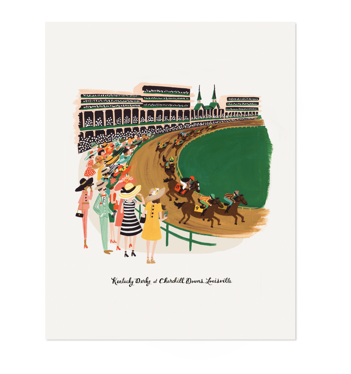 Image of Rifle Paper Co. Kentucky Derby Print 16x20