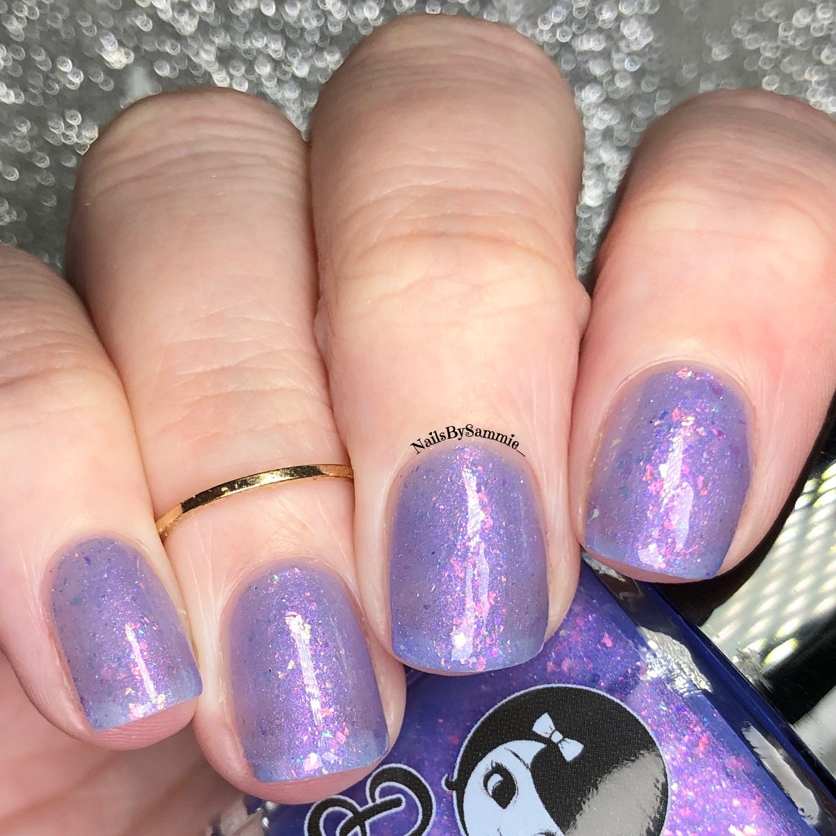 "Image of STRANGER THINGS 3 - ""A Neverending Story"" Mini size polish"