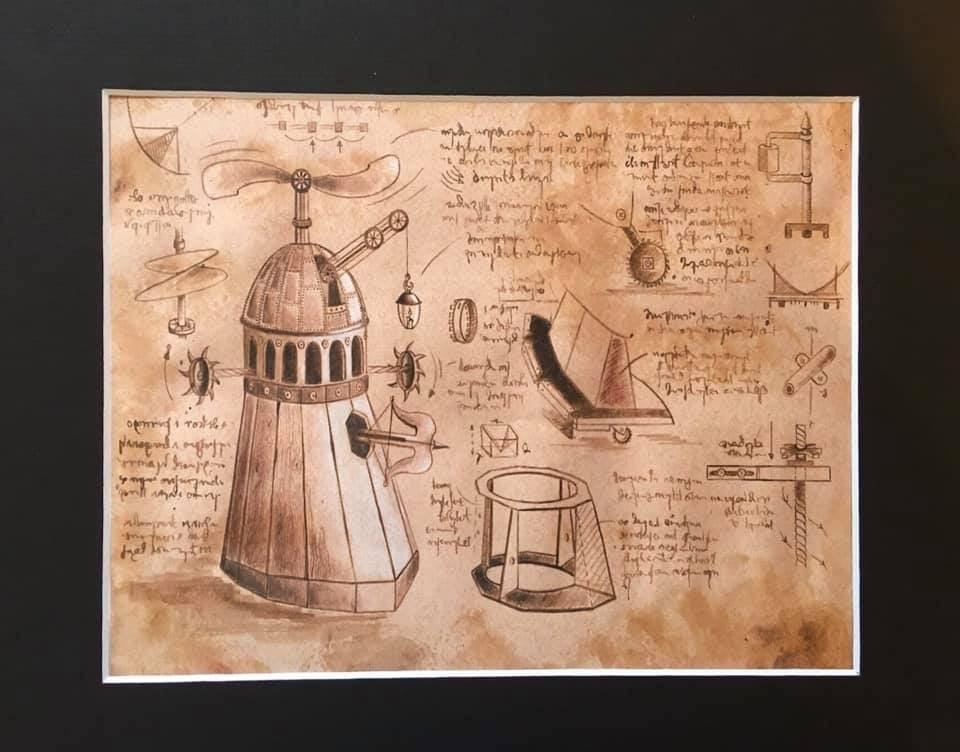The Florentine Dalek :  Limited Edition Print