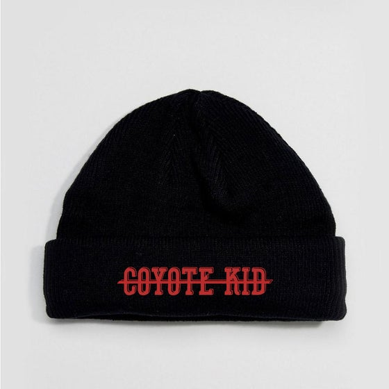 Image of Stitched Coyote Kid Bandit Hat (Preorder)