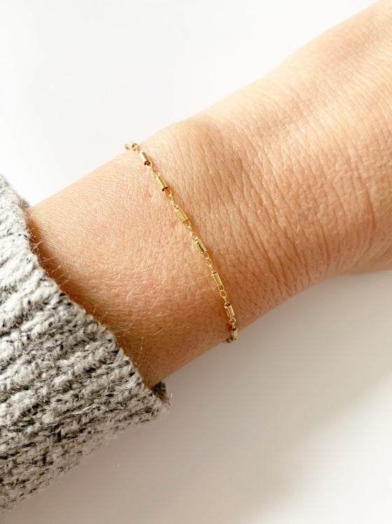 Image of Tube Bracelet or Anklet
