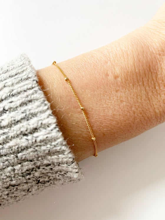 Image of Satellite bracelet or anklet
