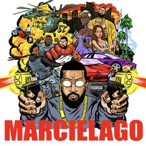 Image of Roc Marciano - Marcielago -  LP (Fat Beats)