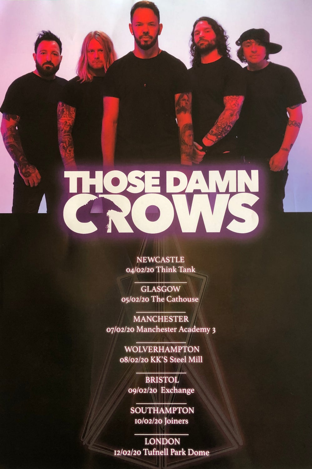Those Damn Crows A3 Posters