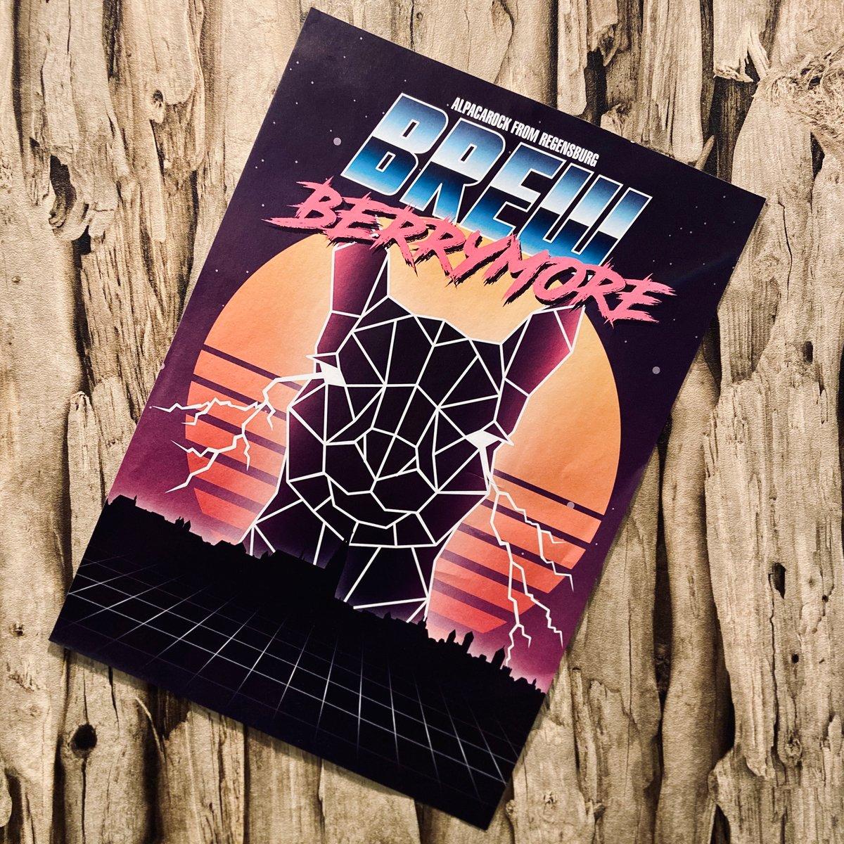 Image of Plakat - 80s Alpacalypse - Din A3