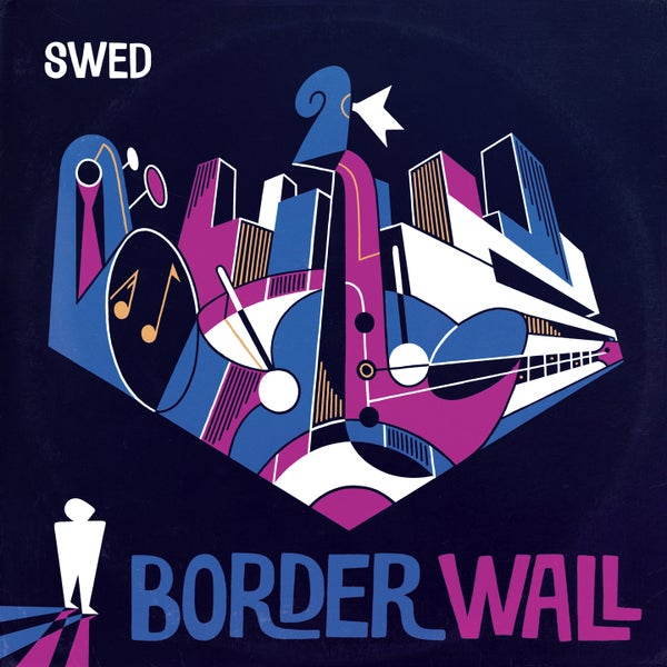 Image of SWED - Border Wall EP (LIMITED EDITION VINYL)
